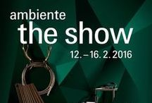 Ambiente 2016 | Royal Crown Derby / Royal Crown Derby will once again join forces with parent company and leading ceramics manufacturer, Steelite International at Ambiente Frankfurt 2016, to exhibit its exemplary global hospitality offering. Visit Us in Hall 4.2, Stand G81.