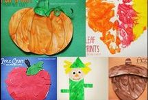 Fall Crafts and Learning Activities for Kids / fall and autumn crafts and learning activities for kids and preschool.