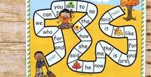 Reading, Phonics, Phonemic Awareness & Letter Sounds / learning activities and learning games that teach letter sounds, alphabet sounds, phonemic awareness, phonics, sight words, preschool, prek, pre-k, pk, elementary, kindergarten.