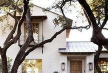 ARCHITECTURAL FACADES / MINIMALIST//COLONIAL(BRITISH/SPANISH)//STUCCO//EASTERN CONTEMPORARY