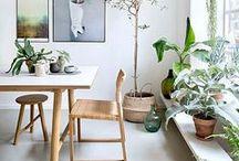 KITCHEN & DINING / INTERIOR DESIGN - KITCHEN IDEAS//DINING ROOMS