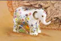 Hari Elephant | Royal Crown Derby & Chester Zoo / To celebrate the life of Hari Elephant, we've worked with Chester Zoo to create a namesake exclusive paperweight.   Commemorating the much-loved Chester Zoo resident, all proceeds from this limited edition piece will go towards funding research into Elephant Endotheliotropic Herpesvirus (EEHV), the virus which sadly took Hari.