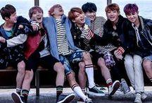 "☰BTS☰ / Debut: 13/06/2013 Name: BTS / BangTan Boys / 방탄소년단  Country: Seoul, South Korea  Genre: K-pop  Label: BigHit Entertainment  Debut song: ""No more dream""  Fanclub: A.R.M.Y. Composition: Rap Monster, Jin, Suga, J-Hope, Jimin, V, Jungkook"