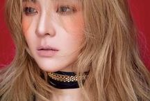 Sandara Park ⋮ Ďara / BDay: 12/11/1984 Zodiac sing: Rat, Scorpio  Stage name: Dara / 다라 Real name: Park Sandara / 박산다라 Profession: singer, actor Musical group: 2ne1(2009-2016) Agency: YG Entertainment  Place of birth: Busan, South Korea  Growth:162 cm Blood type: A