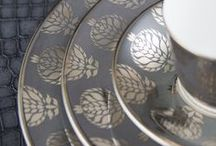 The Colour Grey / Grey is fast becoming a stylish new neutral colour. Take a look at Royal Crown Derby's inspiration and beautiful tableware using the colour grey.