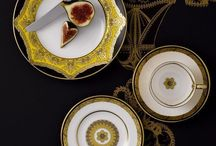The Colour Yellow / From bright pop shades to powdery pastel hues, yellow is a wonderfully fun colour to use in design. Take a look at the way yellow inspires beautiful fine bone china tableware from Royal Crown Derby.