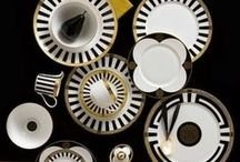 The Colour Black / Use black to create beautifully dramatic effects from monochrome pattern to bold plain. Take a look at Royal Crown Derby's inspiration and beautiful tableware using the black.