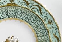 The Colour Green / From deep shades of jade to bright mint greens, green is a wonderful colour to use in design. Take a look at the way the colour green inspires beautiful fine bone china tableware from Royal Crown Derby.