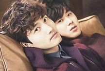 "←TVXQ→ / Debut: 26/12/2003 Name: TVXQ / DBSK Country: Seoul, South Korea  Genre: K-pop, J-pop, R&B, Dance  Label: SM Entertainment  Debut song: ""Hug""  Fanclub: Cassiopeia Composition: Yunho, Changmin"