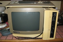 Vintage/Retro Tech / Old, vintage, and retro computer, technology, video games and arcade games.