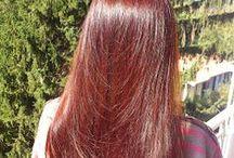 henna na vlasy / Henna, prírodná farba na vlasy