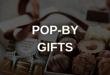 Real Estate Client Gifts / When you Work by Referral Pop-Bys (a small gift of appreciation you bring to your best clients) are a must. Not only do they help deepen relationships, they are a great way to stay top of mind and ask for referrals. Here are some ideas to get the creative juices flowing!