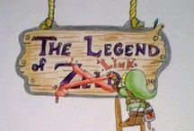 Toon Link / Originally it was just toon Link..... Then I got carried away...... / by Cheri Miller
