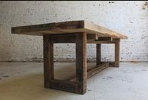 Tables Made of Wood / Tables Made of Wood