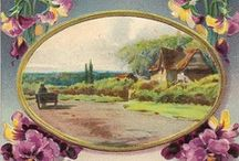 Old postcards / by Helen Philips