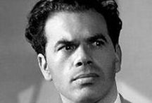 "Frank Capra / He became one of America's most powerful directors during the 1930s, winning three Oscars as Best Director. Among his leading films was It Happened One Night, Mr. Deeds Goes to Town, You Can't Take It With You, Mr. Smith Goes to Washington, Meet John Doe, Arsenic and Old Lace, It's a Wonderful Life and State of the Union. Because of his early fame as a director, his name was listed ""above the title"" of his films when they were publicized.  / by Ken V"