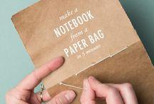 HANDMADE idea / Gift Letter Paper Kraft // Idea DIY // Party Pop