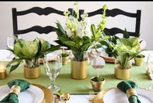 St. Patricks Day Entertaining Ideas! / Our favorite St Patrick's Day entertaining ideas that include treats, decorating ideas and more!