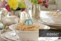 Easter Decorating Ideas! / We rounded up our favorite easter decorating ideas for you! Egg decorating, table decorating, and more! #HappyEaster #EasterDecorating #Eggs #Bunnies #Spring
