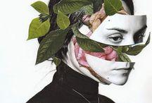 MIX design / Collage Cut Combination //  Illustration Photograph // Design Inspiration