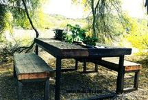 Garden Tables / Examples of our work.