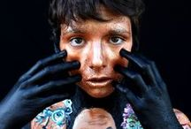 My own work - Body painting / Body painting / Acrylic http://anaiska.wix.com/bazar-apres-gardiste