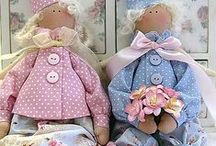 A TILDA, RAG, STUFFED DOLLS / BONECAS / TOYS  IDEAS & PATTERNS