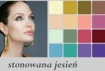 Deep Autumn Celebrities /  Type Colors