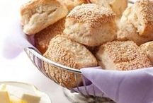 Scones, biscuits and savory muffins