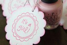 Joy ▲ baby girl shower / Ideas for our baby shower for Baby Girl Guy in November.