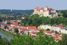 Heimweh  / Burghausen (und Umgebung) - die Stadt, die in der Mitte meines Herzens steht.