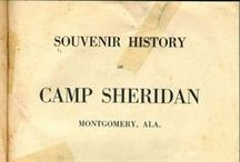 WWI and Camp Sheridan, Al. / Postcard and other published images of Camp Sheridan, a WWI Army training camp near Montgomery, Alabama.