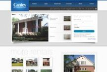 Cantey & Company / Cantey & Company, a reputable property management business that shines a spotlight on personal and professional service, had its site custom-built by Elephant Ear Design; it includes a permanent property database that allows Cantey & Company to choose which properties are available at any given time. Valuable information for both property owners and those looking to rent a home in the Columbia, SC area can be found on the site.