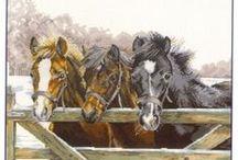 Borduren Paarden