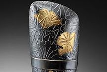 One of a Kind- Japanese Textile / Estelle Vernon- Jewelry Designer