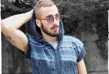 Men's wool clothing / Men's alpaca wool clothing