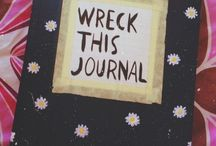 Wreck this journal ideas / To create is to destroy