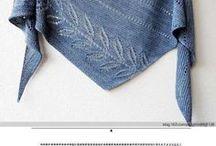Crochet, knitting - scarves II, poncho, neckerchief / háčkování, pletení - šály II, ponča, nákrčníky