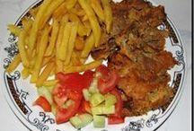 Recepty -  maso / marinády, vepřové, drůbeží, králičí, hovězí, mleté, vnitřnosti, jídla z uzenin, ryby