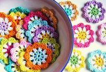 Crochet - small doilies / háčkování, pletení - dečky, prostírky, chňapky