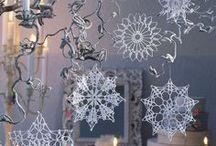 Christmas crochet I - snowflakes, bells