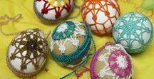 Crochet - easter / háčkování - velikonoce