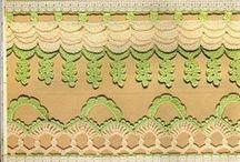 Crochet - edging / háčkování bordury