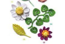 Crochet - motifs IV - flowers / kytičky
