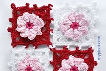 Crochet - motifs I - square,hexagon
