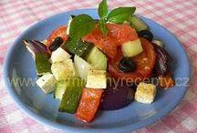 Recepty - zelenina I - cuketa (vše slané)