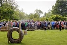 Winton Castle Team Building & Corporate Fun Day / Our events team put together some amazing, entertaining activities for corporate days out for team building and as thank yous.