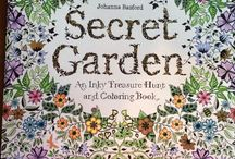 Coloured pages / Finished colouring pages from; animal kingdom Tropical wonderland Secret garden Lost ocean Enchanted forest