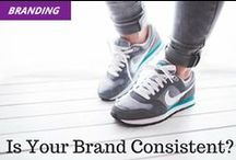 Branding / Your brand is the very core of your business, and it's more than just a great logo. It's in your name, visual identity, and the promise that you're making to your customers.