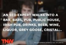 Marketing Humor / Need a laugh? Consider yourself a marketing nerd? You'll love these PPC, SEO, Google inspired jokes.